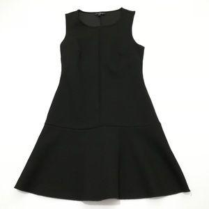 TOPSHOP Black Scuba Sleeveless Dress Size 4